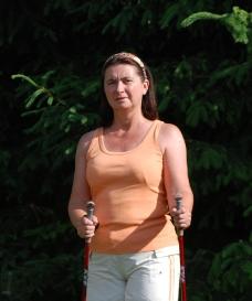 nordic walking edzés - Sarkcsillag Sport bolt